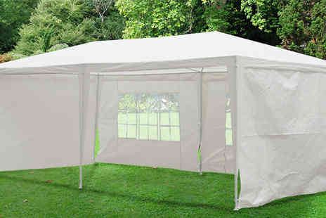 MHSTAR -  6m x 3m Large Garden Gazebo - Save 83%