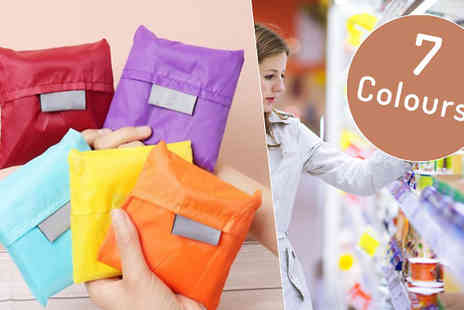 Richardson Group - Folding Reusable Shopping Bag Seven Colours - Save 40%