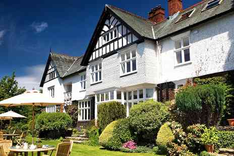 Lindeth Howe - Dinner for 2 at Beatrix Potters Rural Country House - Save 43%