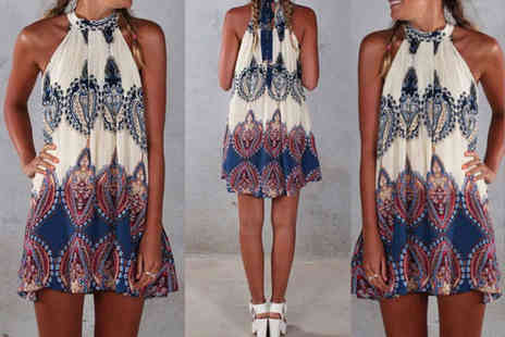 Jewleo - Boho beach summer dress choose from three sizes - Save 77%