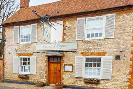 The Green Dragon Hotel - Lunch & Prosecco for 2 at Attractive Aylesbury Pub - Save 61%