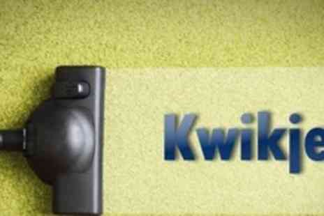 Kwikjet - Carpet Cleaning For Two Rooms - Save 74%
