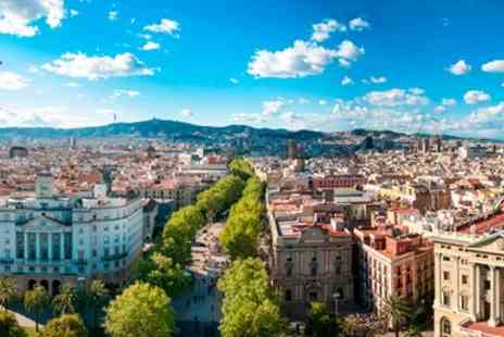 Tour Center - Two Night Barcelona Getaway with Flights - Save 0%