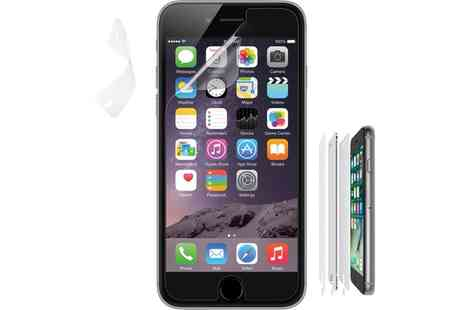 Groupon Goods Global GmbH - Belkin Screen Protector for iPhone in Choice of Model - Save 60%