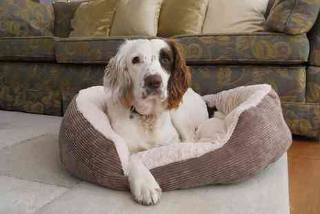 Groupon Goods Global GmbH - Jumbo Cord Oval Pet Bed - Save 0%