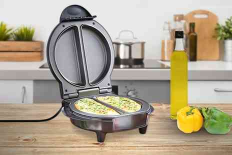 Groupon Goods Global GmbH - VonShef Electric Omelette Maker - Save 55%