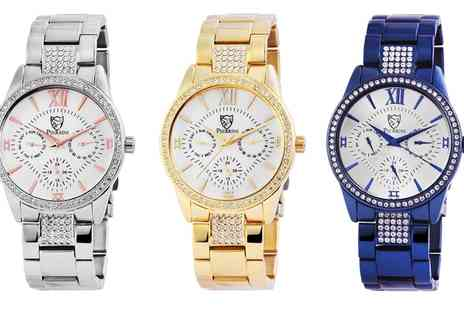 Groupon Goods Global GmbH - Pierrini Analog Watches With Free Delivery - Save 67%