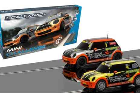 Groupon Goods Global GmbH - Scalextric Mini Challenge Set With Free Delivery - Save 41%