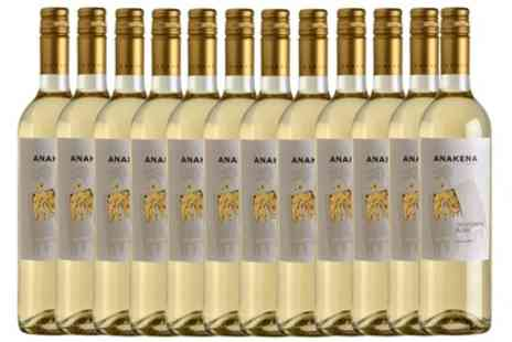 Accolade Wines - 12 Bottles of Anakena Sauvignon Blanc or Cabernet Sauvignon With Free Delivery - Save 0%