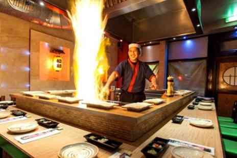 WasabiSabi - Five Course Teppanyaki Meal For Two with Tea or Coffee - Save 40%
