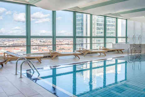 Panorama Hotel Prague - Four Star Panoramic City Views Stay For Two from Top Floor Spa - Save 75%