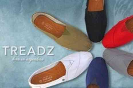 Treadz - Handmade Alpargata Style Shoes - Save 56%