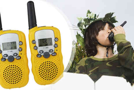 HK J and Y International Trading - 22 Channels Twin Walkie Talkies - Save 50%