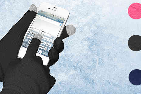 Emyub - Two Pairs of Touch Screen Gloves - Save 85%