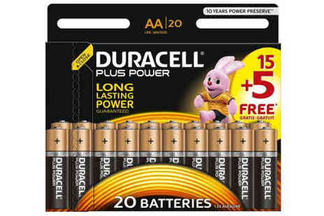 beautynstyle - Duracell MN1500 Plus Power AA Size Batteries - Save 83%