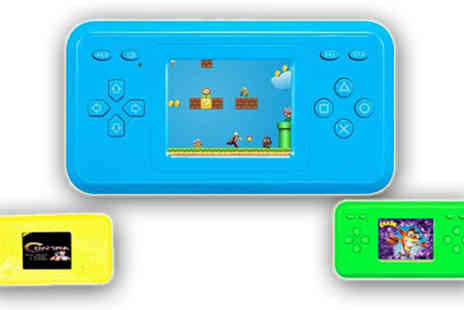 HK Betty Technology Co - Green Handheld Game Player - Save 60%