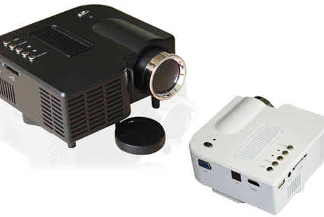 HK J and Y International Trading - Led Projector with Remote Control and UK Adapter - Save 71%
