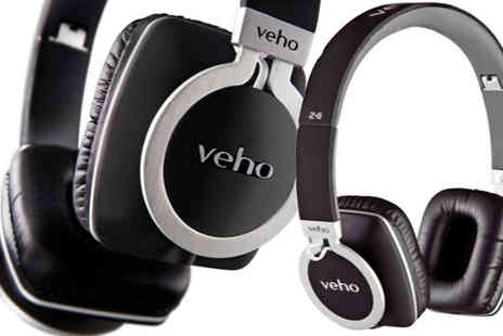 HCi Distribution - Veho Z8 Designer Aluminium Headphones - Save 55%