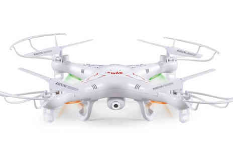 Marcus Emporium - Remote Controlled Quadcopter Drone with HD Camera & wifi option - Save 72%