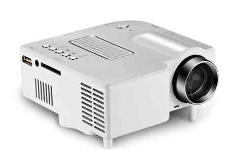 HK J and Y International Trading - Portable Mini LED Cinema Projector - Save 78%