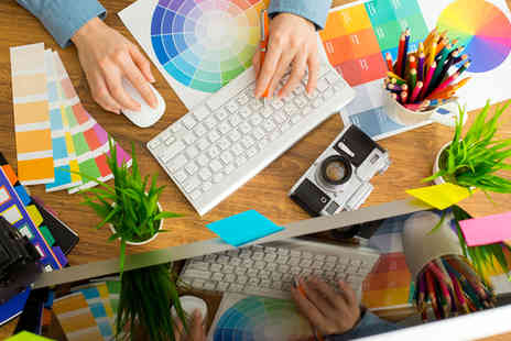 NLP Centre of Excellence - Graphic Design Diploma Course - Save 84%
