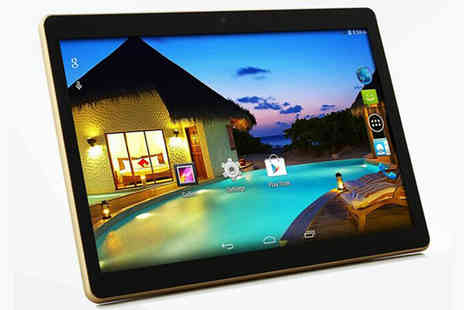 HK J and Y International Trading - SmartPad 10 Inch IPS Screen Android 5.0 Tablet With WiFi and 3G - Save 69%