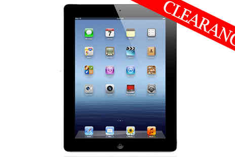 3 Step IT - Apple iPad 4 Black 32GB Wifi and 3G Or 4G - Save 68%