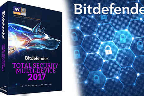 Software Link - BitDefender Total Security Five Devices One User 2017 Version - Save 60%