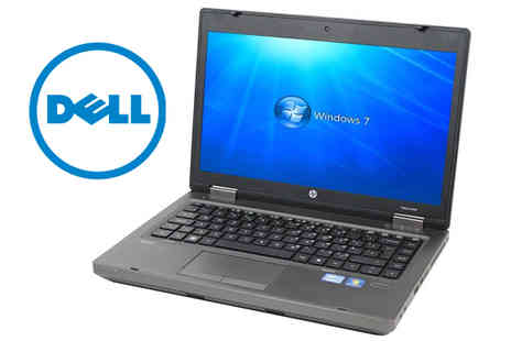 JMTech - 14 Inch HP ProBook 6460b Laptop with 250GB HDD & 4GB RAM - Save 70%