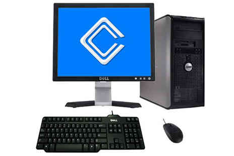 Circuit Computers - 19 Inch Flat Panel Plus 4GB Windows 10 DELL 760 Plus 250GB Disk - Save 42%