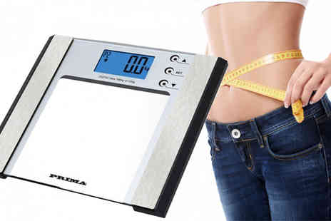 ToolCollection - Seven In One Digital Body Fat Monitoring & Weighing Scales - Save 68%