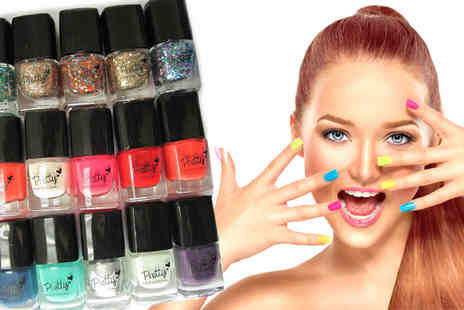 Zenith Wholesale - Luxury 15pc Nail Polish Cosmetic Set - Save 80%