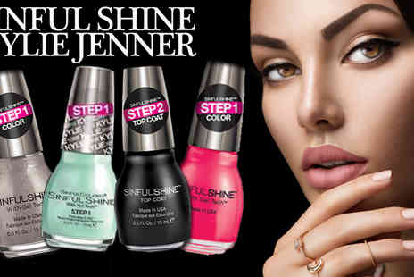 beautynstyle - Kylie Jenner Sinful Colour Nail Polish Pack of Six - Save 63%