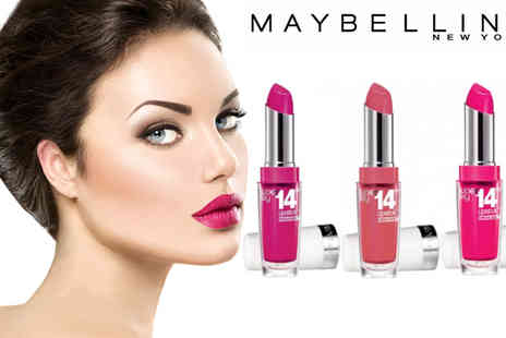 beautynstyle - Maybelline Super Stay 14HR Lipstick Pack Of Three - Save 67%