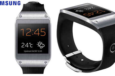 Ultimo Electronics - Samsung Galaxy Gear SM V700 Bluetooth Smart Watch Jet Black - Save 39%