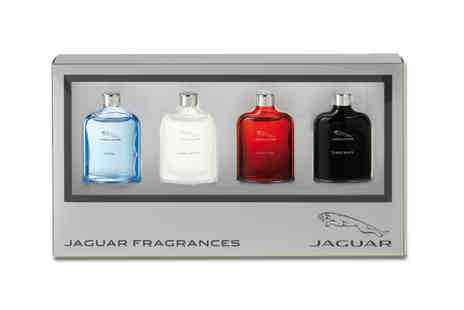 Jan Kauf - Jaguar Miniature Classic EDT Set - Save 62%
