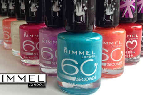 beautynstyle - Rimmel 60 Seconds Nails Polish Pack of 15 - Save 55%