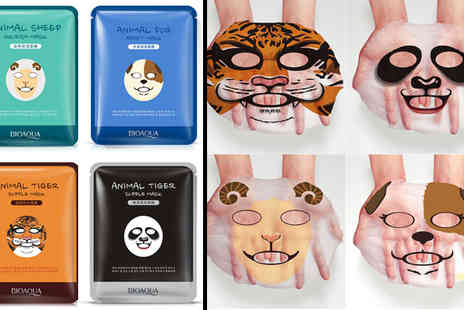 ugoagogo - Set of Four Nourishing Animal Facial Masks - Save 74%