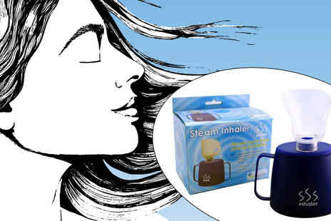 Shamz Distributors - Steam Inhaler for Congestion and Blocked Sinuses - Save 48%