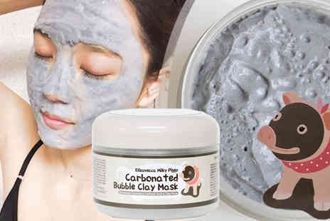 ugoagogo - Milky Piggy Bubble Clay Mask - Save 68%