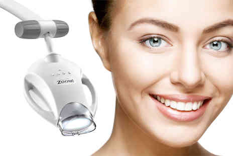 Smile Science - Philips Zoom Whitening Treatment Harley Street - Save 80%