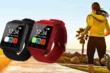 HK J and Y International Trading - Smart Watch with Bluetooth - Save 90%