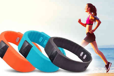 Eskkay - 5 in 1 TW64 Smart Bluetooth Sports Activity Bracelet in 2 Colours - Save 89%