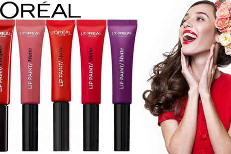 beautynstyle - LOreal Lip Paint Lacquer Pack of Two - Save 69%