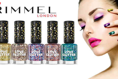 beautynstyle - Rimmel Love Glitter Nail Polish Pack of Five - Save 65%