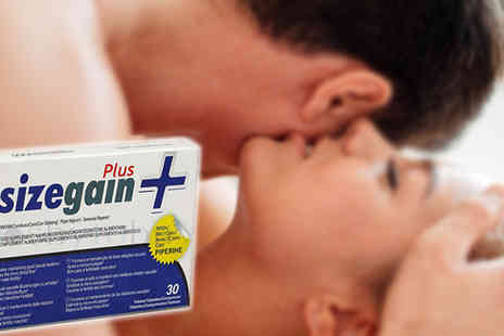 Natural Logistics - Sizegain Plus Nutritional supplement for sexual enhancement - Save 48%