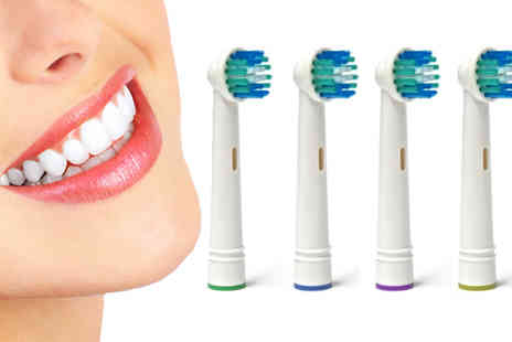 HK J and Y International Trading - Oral B Compatible Electric Toothbrush Replacement Heads - Save 85%