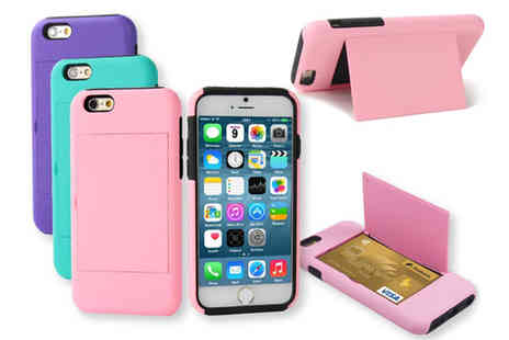 Affinity International - iPhone 5 or 5s Case with Secret Hidden Credit Card Slot - Save 80%
