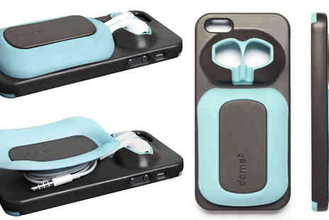Eskkay - Blue or Black iPhone Case Headphones Case 5 or 5S - Save 50%