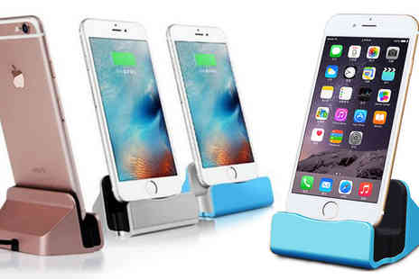 Hc Electronics Technology - iPhone 5 or 5s 6 or 6s Charging Dock Stand - Save 76%